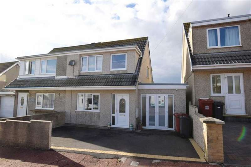 3 Bedrooms Semi Detached House for sale in Andreas Avenue, Barrow In Furness, Cumbria