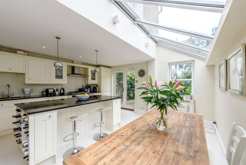 4 Bedrooms Terraced House for sale in Brookville Road, Fulham