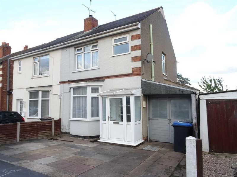 3 Bedrooms Semi Detached House for sale in Granby Road, Hinckley