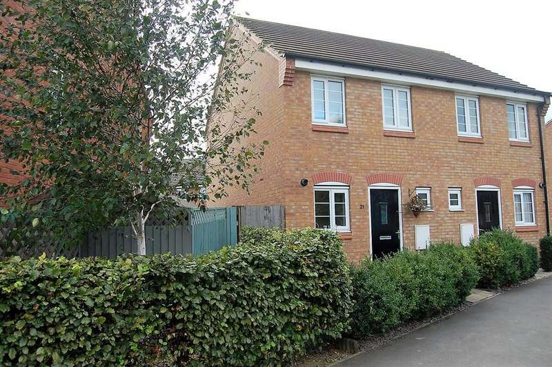 2 Bedrooms Semi Detached House for sale in The Gables, Bourne, PE10