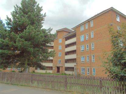 2 Bedrooms Flat for sale in Deansburn House, Aikman Avenue, Leicester, Leicestershire