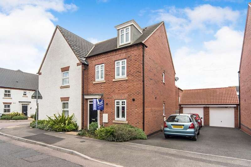 3 Bedrooms Semi Detached House for sale in Linkfield Road, Mountsorrel, Loughborough