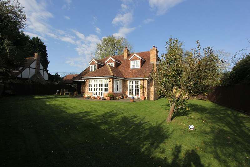 4 Bedrooms Detached House for sale in Station Road, Bluntisham, Huntingdon, Bluntisham, Huntingdon, Cambridgeshire, PE28 3PA