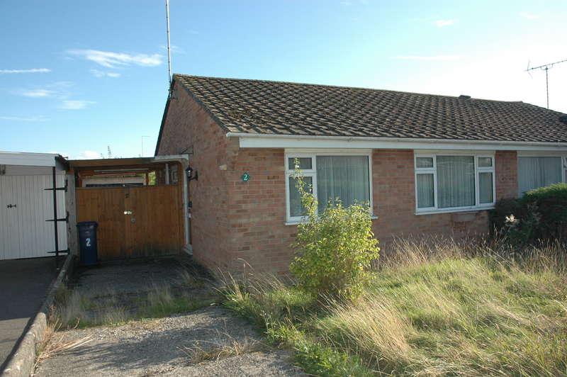 2 Bedrooms Semi Detached Bungalow for sale in 2 Avondale Gardens, Gillingham, Dorset, SP8 4RW