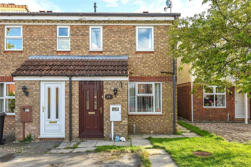 2 Bedrooms End Of Terrace House for sale in Linnet Way, Sleaford, NG34