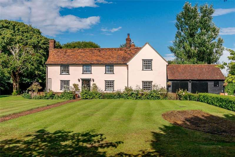 5 Bedrooms Detached House for sale in Crows Green, Bardfield Saling, Essex, CM7