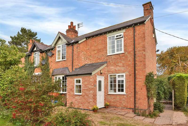 3 Bedrooms Semi Detached House for sale in Main Road, Kirby Bellars, Melton Mowbray