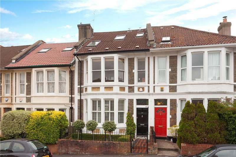 4 Bedrooms Terraced House for sale in Cairns Road, Westbury Park, Bristol, BS6