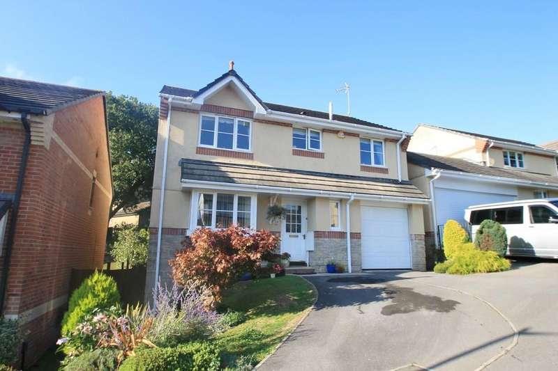 4 Bedrooms Detached House for sale in Carrisbrooke Way, Latchbrook, Saltash