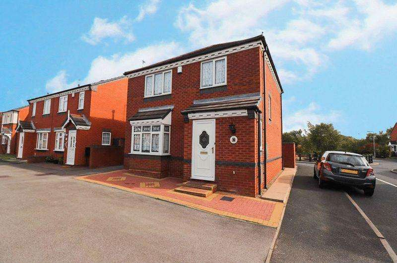 3 Bedrooms Detached House for sale in The Square, Tipton