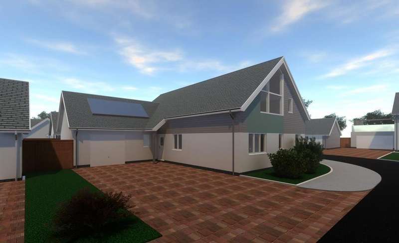 4 Bedrooms Detached Bungalow for sale in The Lawns, Mount Sandford Green, Barnstaple