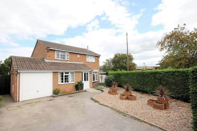 4 Bedrooms Detached House for sale in Eden Close, Loughborough