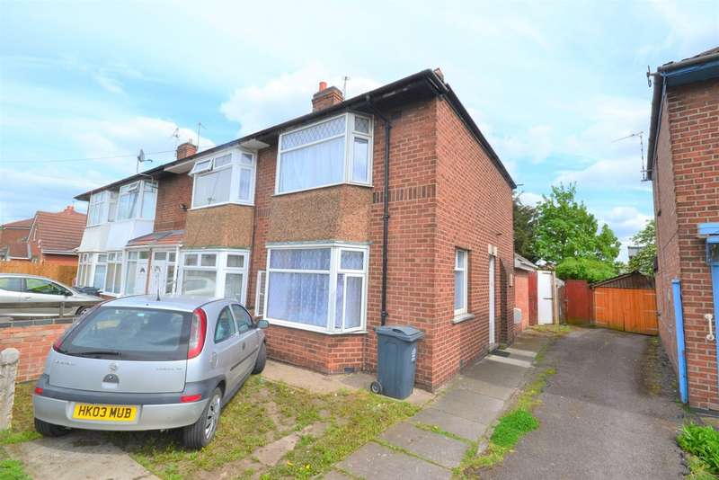 3 Bedrooms Semi Detached House for sale in Rosedale Avenue, Rushey Mead, Leicester LE4