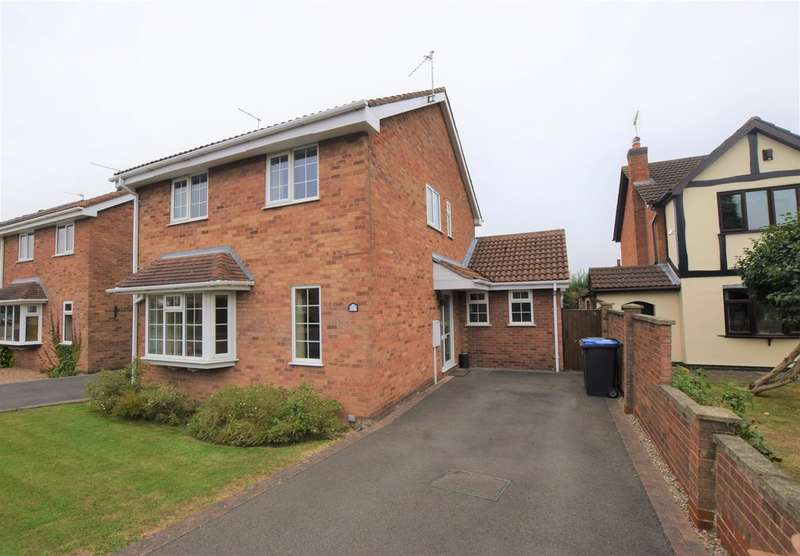 3 Bedrooms Detached House for sale in Harwood Drive , Hinckley LE10