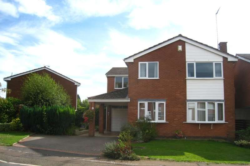 4 Bedrooms Detached House for sale in Rees Drive, Finham, Coventry, CV3