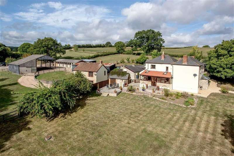 4 Bedrooms Detached House for sale in Staple Fitzpaine, Staple Fitzpaine, Taunton, Somerset, TA3