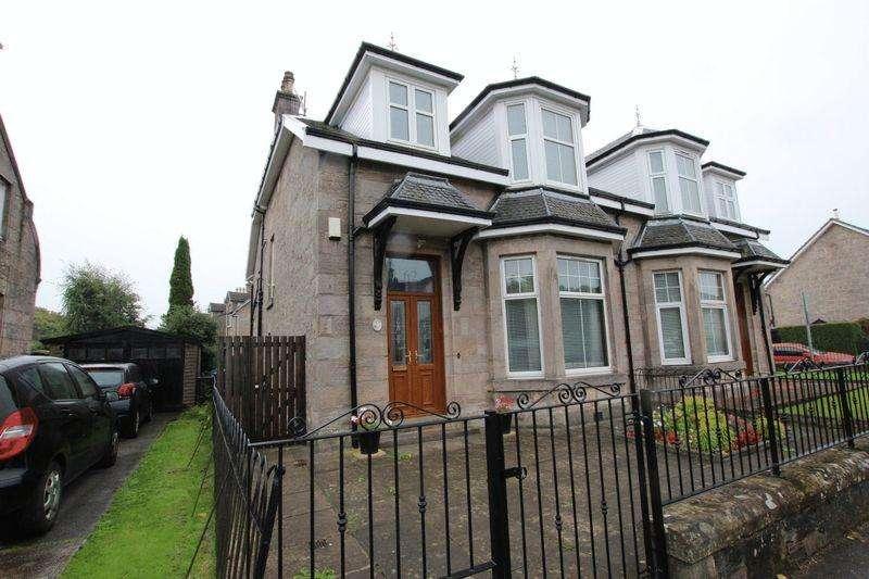 3 Bedrooms Semi-detached Villa House for sale in Bonhill Road, Dumbarton