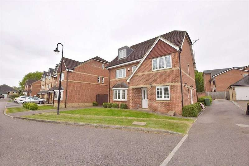 5 Bedrooms Detached House for sale in Wellsfield, BUSHEY, Hertfordshire