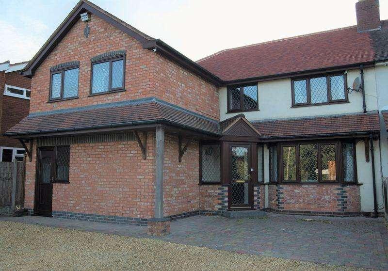 5 Bedrooms Semi Detached House for sale in Wallheath Lane, Stonnall