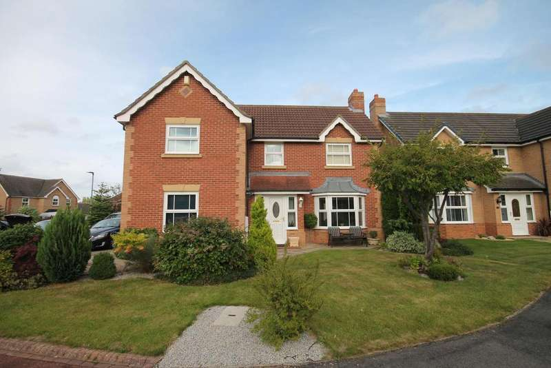 4 Bedrooms Detached House for sale in Hammond Close, Marton-In-Cleveland, Middlesbrough