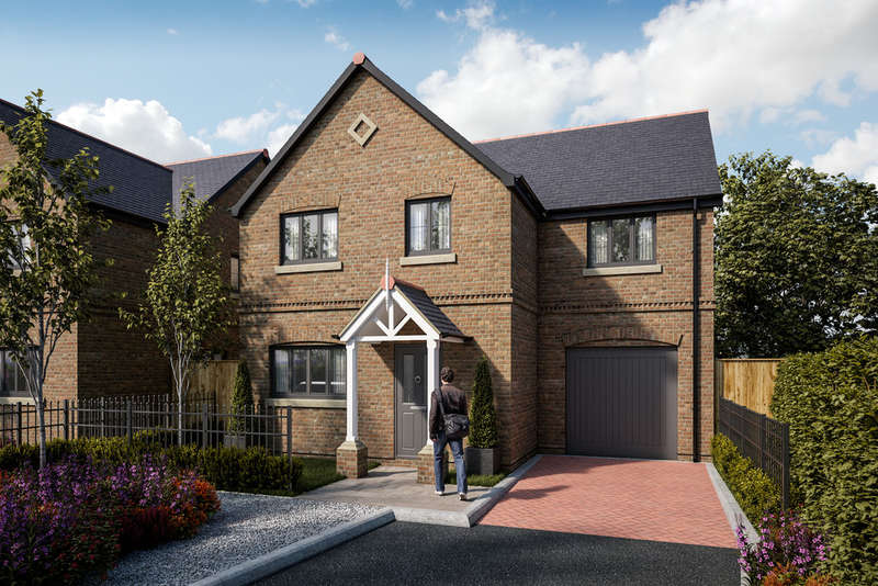 4 Bedrooms Detached House for sale in Coppice Road, Winterley