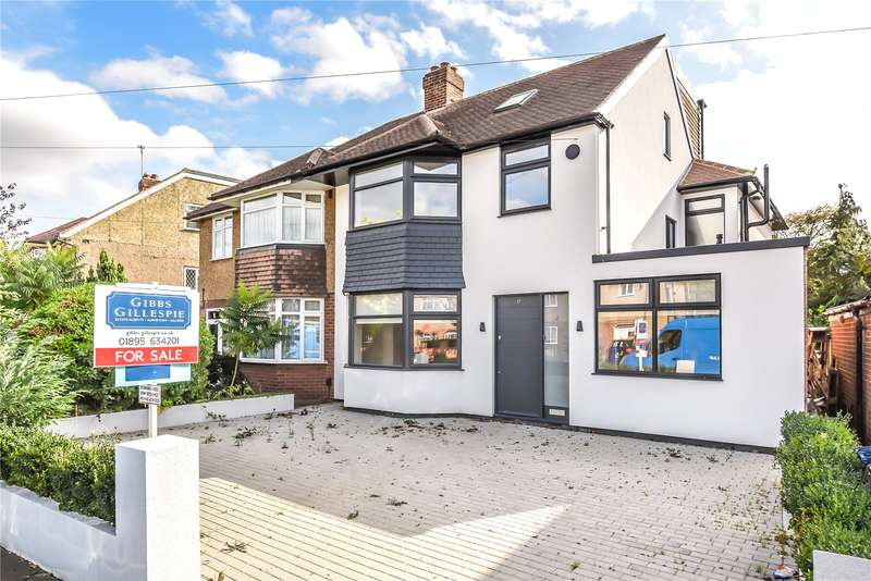 6 Bedrooms Semi Detached House for sale in Tangmere Gardens, Northolt, Middlesex, UB5