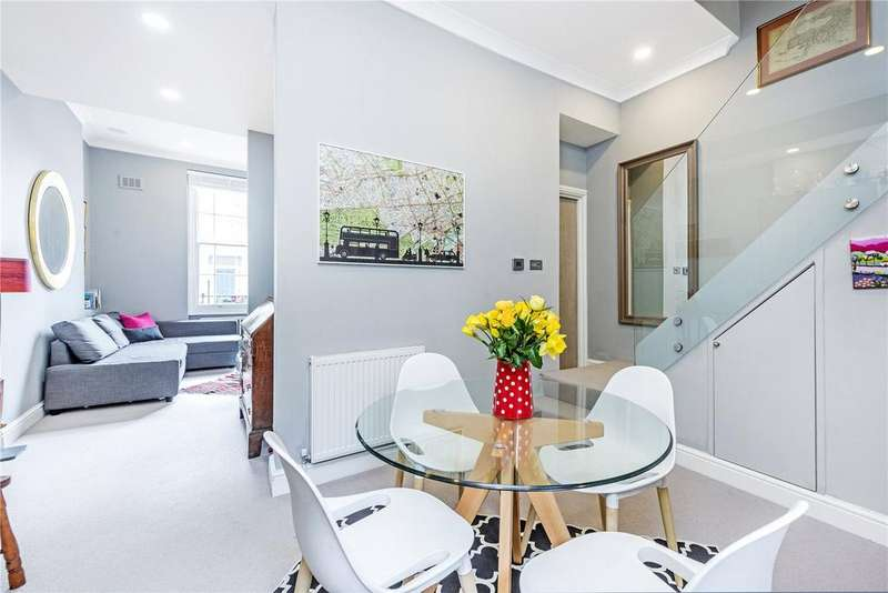 2 Bedrooms Maisonette Flat for sale in Alderney Street, London, SW1V