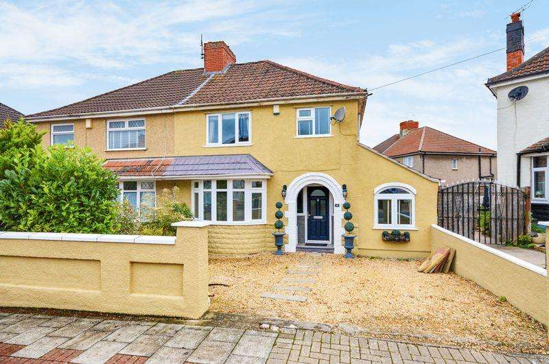 3 Bedrooms Semi Detached House for sale in Alexandra Road, Uplands, Bristol
