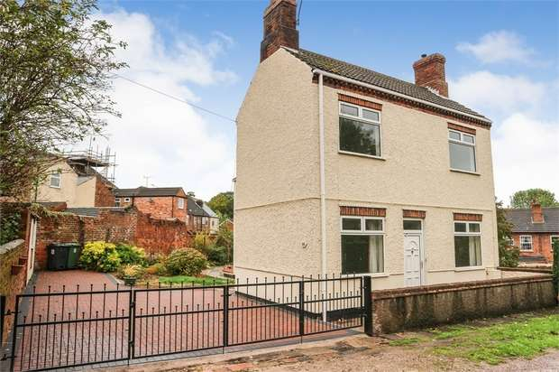 3 Bedrooms Detached House for sale in Bramley Street, Somercotes, Alfreton, Derbyshire