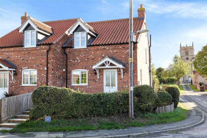 2 Bedrooms Semi Detached House for sale in Church Lane, Timberland, LN4