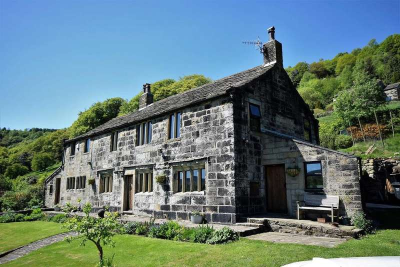 4 Bedrooms Detached House for sale in Potball, Jumble Hole Road, Charlestown, Hebden Bridge, HX7 6PS