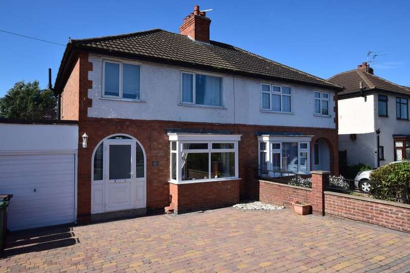3 Bedrooms Semi Detached House for sale in Wanlip Lane, Birstall, Leicester, LE4