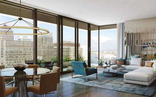 2 Bedrooms Apartment Flat for sale in The Wardian, Canary Wharf, E14