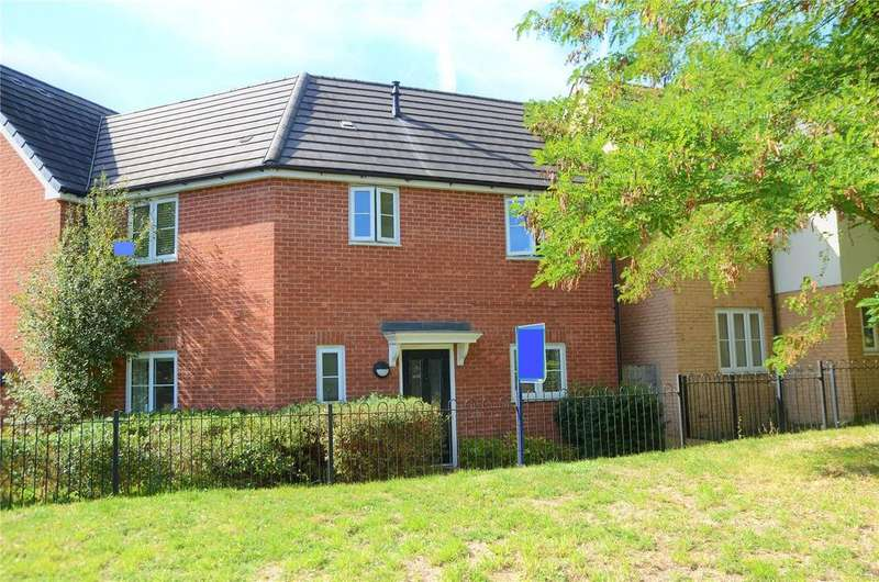 3 Bedrooms End Of Terrace House for sale in Jubilee Walk, Calcot, Reading, Berkshire, RG31