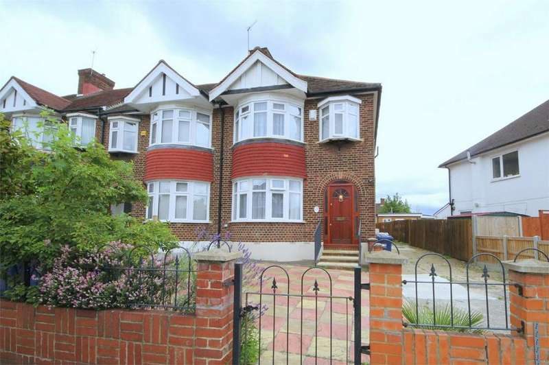 3 Bedrooms End Of Terrace House for sale in Brunswick Park Road, London
