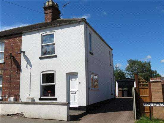 2 Bedrooms End Of Terrace House for sale in King Edward Street, Sleaford, Lincolnshire, NG34