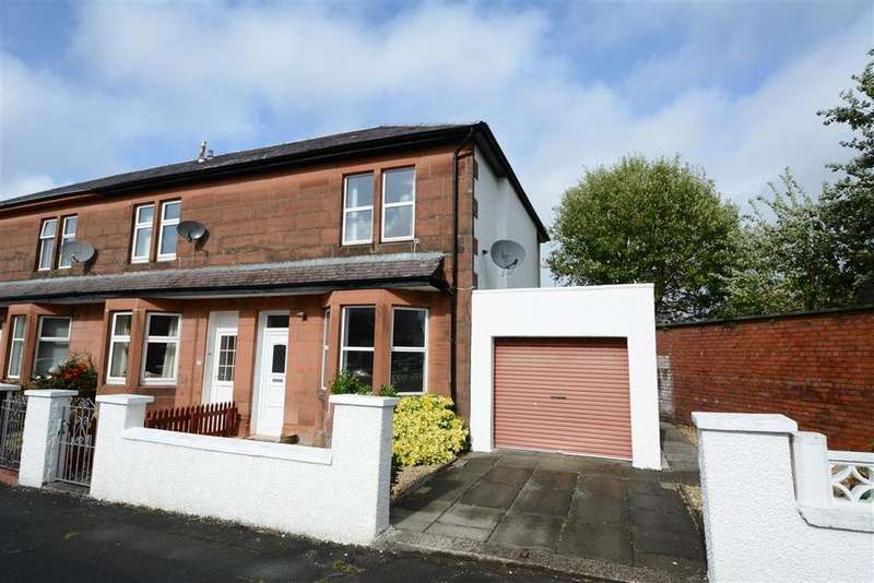 2 Bedrooms End Of Terrace House for sale in 6 Blackdales Avenue, Largs, KA30 8HU