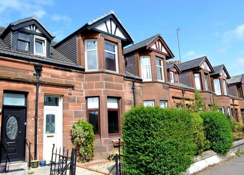 3 Bedrooms Terraced House for sale in Montrose Street Clydebank, G81 2PA