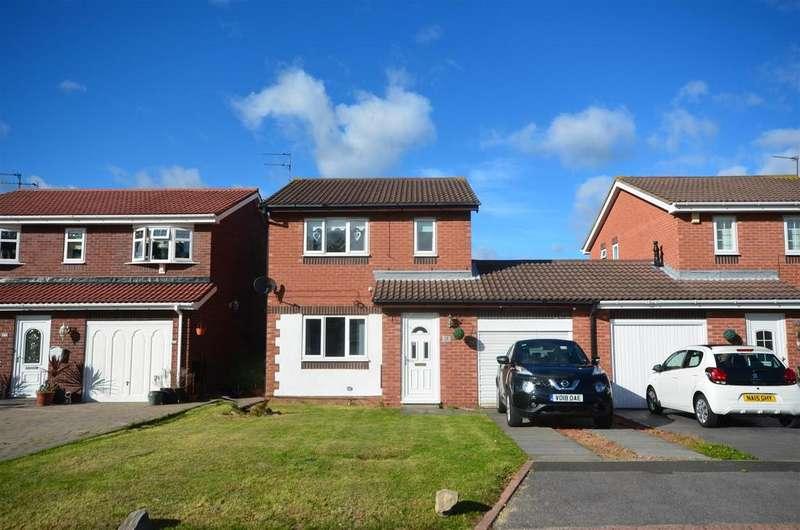 3 Bedrooms Link Detached House for sale in Stansted Close, Fulford Grange, Sunderland