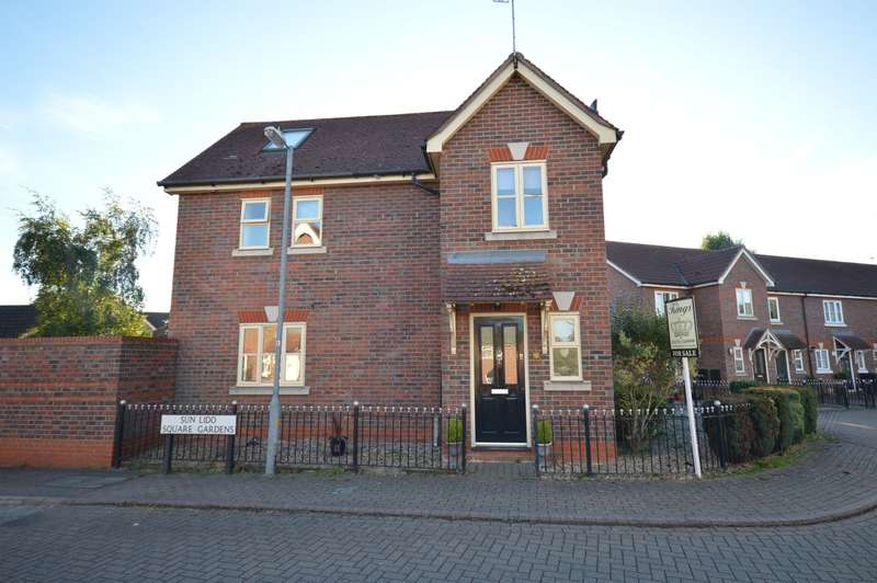 4 Bedrooms Semi Detached House for sale in Sun Lido Square Gardens, Braintree, CM77