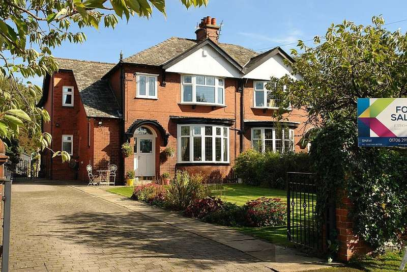 4 Bedrooms Semi Detached House for sale in Hampden Road, Shaw, Oldham