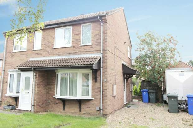 2 Bedrooms Semi Detached House for sale in Larkspur Croft, Boston, Lincolnshire, PE21 8EF