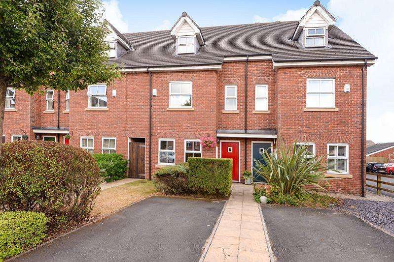 4 Bedrooms Town House for sale in Holywell Drive, Warrington