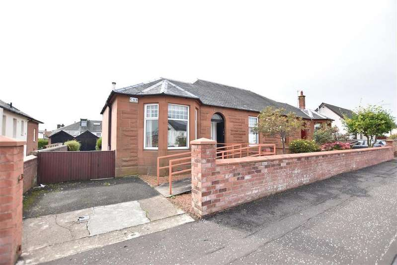 2 Bedrooms Semi Detached Bungalow for sale in 4 Meiklewood Avenue, Prestwick, KA9 2JR