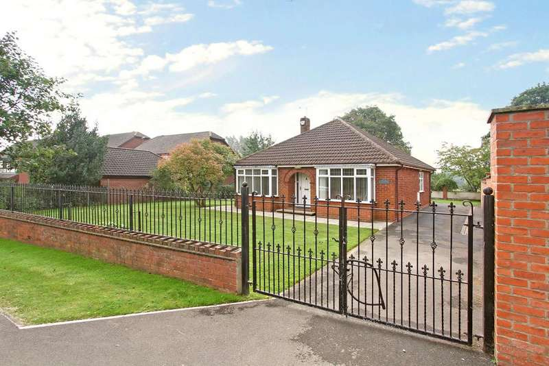 3 Bedrooms Detached Bungalow for sale in Hatfield Woodhouse,Doncaster, DN7 6PJ.
