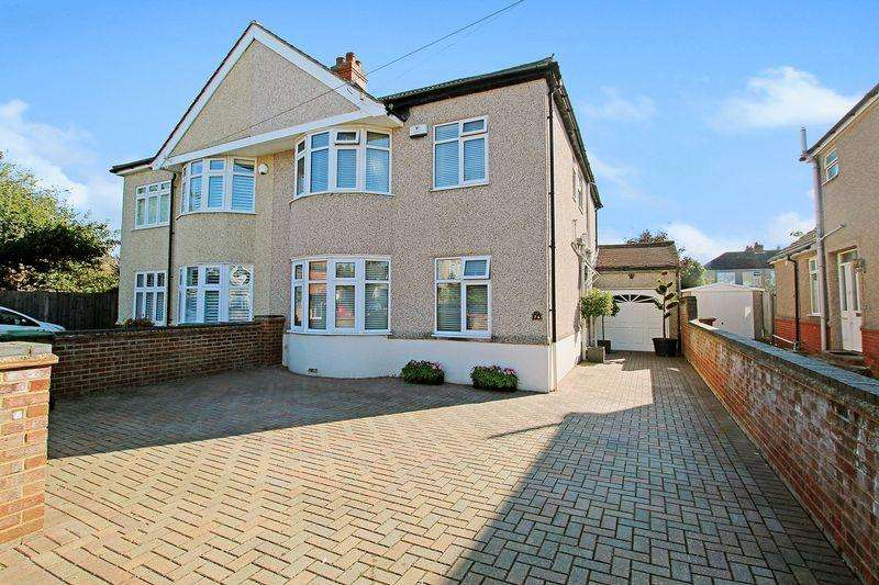 4 Bedrooms Semi Detached House for sale in Montrose Avenue, Sidcup