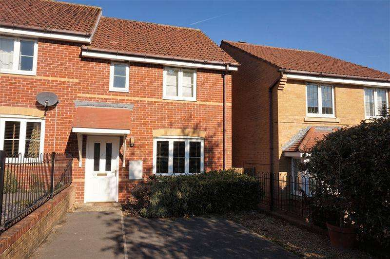 3 Bedrooms Semi Detached House for sale in Florence Gardens, Thatcham