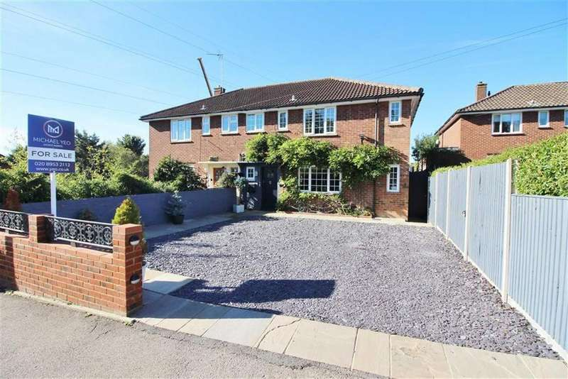 4 Bedrooms Semi Detached House for sale in Cowley Hill, Borehamwood, Herts