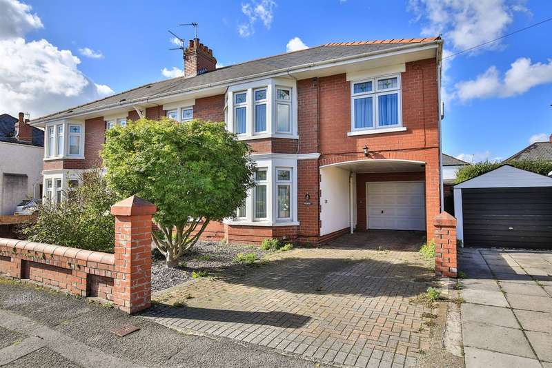 5 Bedrooms Semi Detached House for sale in St Francis Road, Whitchurch, Cardiff