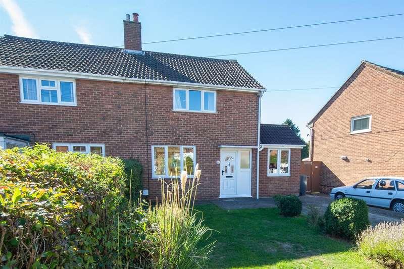 2 Bedrooms Semi Detached House for sale in Edgecote Close, Caddington, Luton